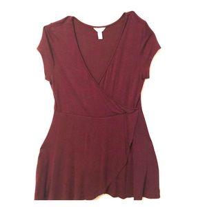 Arizona Jean Co Juniors wrap dress